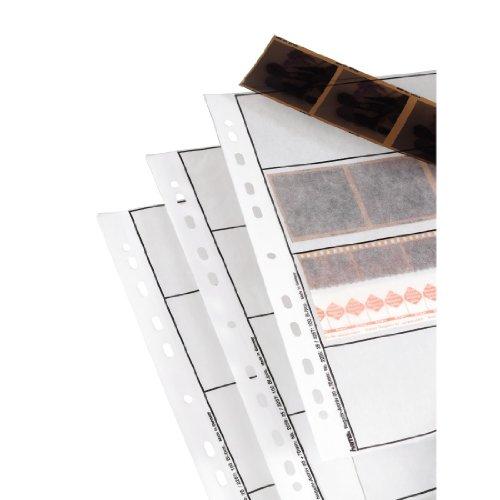 Hama 00002257 Feuillets-pochettes pour négatif 6 x 9 cm Cristal mat