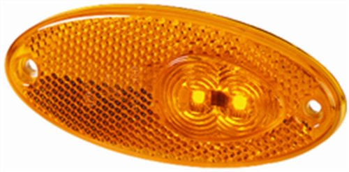 Hella 964295061 4295 Series Amber Led Side Marker Lamp With Reflex Reflector
