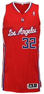 NBA Los Angeles Clippers Red Authentic Jersey Blake Griffin #32, Medium