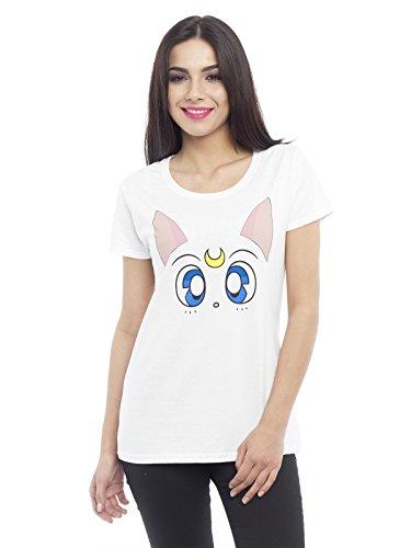 Sailor Moon Artemis Maglia donna bianco XXL