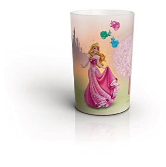 Philips Disney Sleeping Beauty Children's Candle Set - 4 x 0.06 W LED Candles
