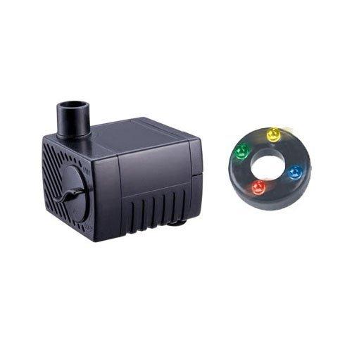 Bomba de agua LED Jebao PP300, para fuente, 40 GPH.
