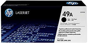 HP Q5949A (Hp 49A) Toner, 2500 Page-Yield, Black Toner