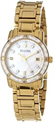 Bulova Women's 98R165 Diamond Case Watch