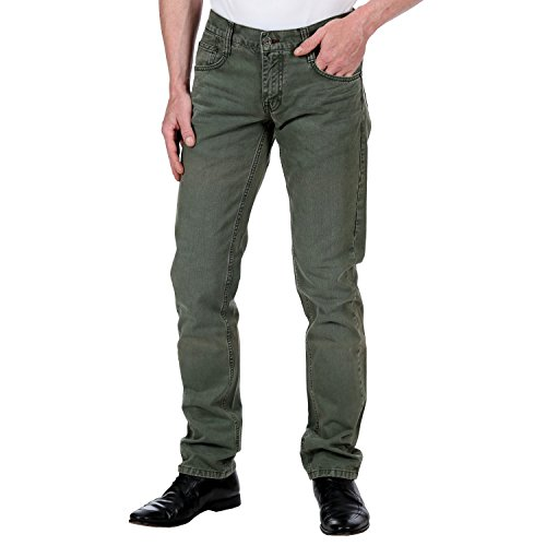 Mustang -  Jeans  - Uomo 661 Green Wash 28W x 32L