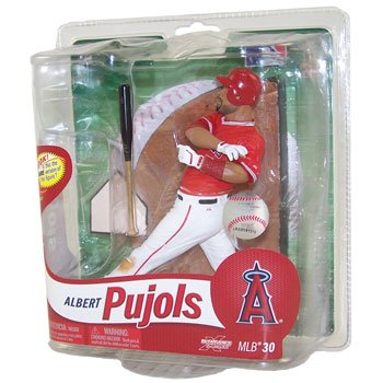 MLB Los Angeles Angels McFarlane 2012 Series 30 Albert Pujols (5) Action Figure