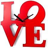 Panache Love (23 cm x 23 cm, Red, Pan531)