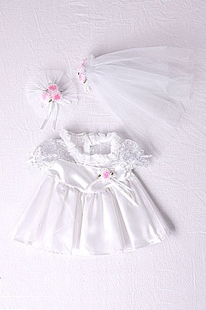 Bride Outfit Teddy Bear Clothes Fit 14