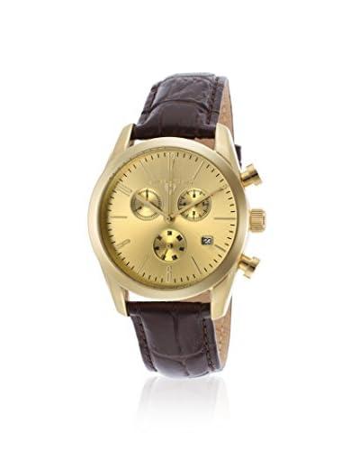 Swiss Legend Men's 22038C-YG-10-BRWS Peninsula Brown/Gold-Tone Stainless Steel Watch