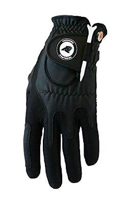 Zero Friction NFL Compression Fit Mens Gloves-Mens Left Hand-Carolina Panthers