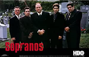 The Sopranos Cemetery Horiizontal Tv Paper Poster Measures 35 x 23 inches (88 x 59 cm) approx