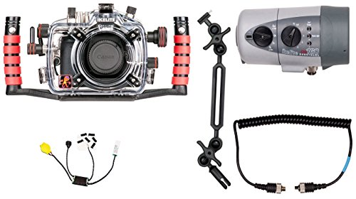 Canon EOS 70D Underwater DSLR Waterproof Camera Housing by Ikelite 6870.70 for canon g1x ii powershot meikon 60m 195ft underwater waterproof camera housing case g1x mark ii