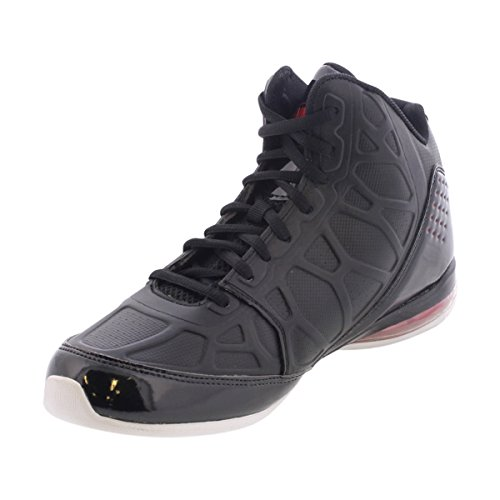 AND1 Men's Master 3 Black/Red Sneaker 9 D (M)