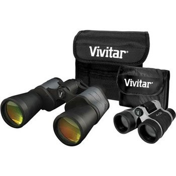 Vivitar Value Series Viv-Vs-1043 10X50 And 4X30 Binocular Set