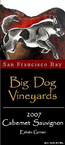 2007 Big Dog Vineyards San Francisco Bay Estate Grown Cabernet Sauvignon 750 Ml