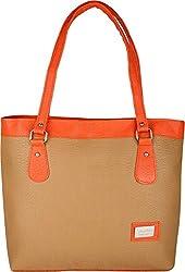 Typify Women's Handbag (Tan)