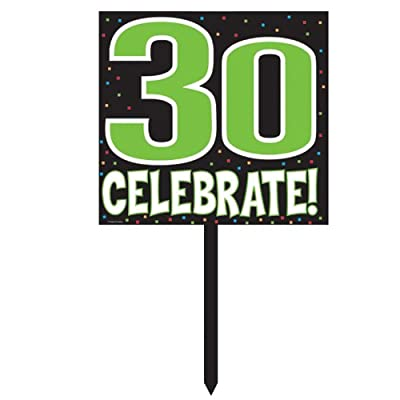 Creative Converting Mens 30 Celebrate Yard Sign