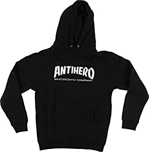 Anti Hero Skate Co Black Large Hooded Sweatshirt