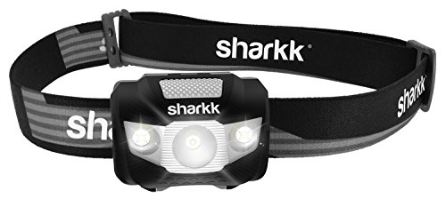 Sharkk Basics LED Headlamp Flashlight Portable IPX6 Waterproof Headlamp with Adjustable Lighting and Straps Up to 160 Lumen and 180hrs Battery Life (3 AAA Batteries Not Included) (Light To Wear On Your Head compare prices)