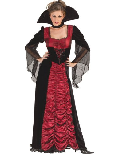 Taffeta Coffin Vampiress Women's Costume