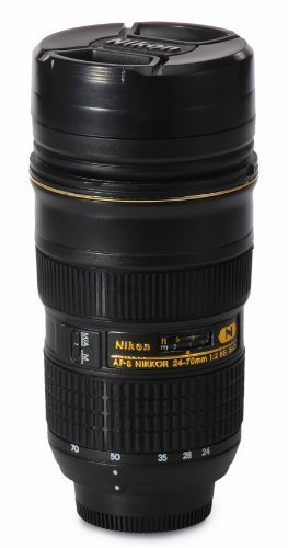 Claybox nikon 24 70mm f2 8g 14 5 ounce 1 1 dslr camera Nikon camera lens coffee mug