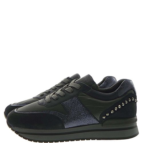 Janet Sport 36753 Sneakers Donna Pelle/tessuto Grigio/blu Grigio/blu 41
