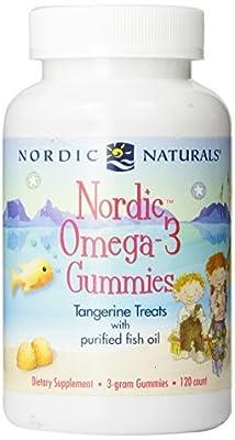 Nordic Naturals - Nordic Omega-3 Gummies (Tangerine)3 gram- 120ct (Pack of 2)