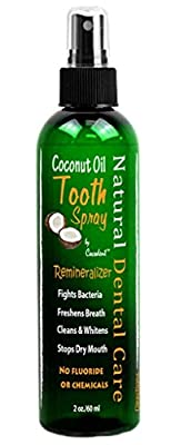 Coconut Oil Tooth Spray Cacao Chocolate Extract