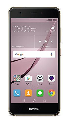 Huawei Nova Smartphone sbloccato 4G (Schermo: 5pollici-32GB-Dual Nano-SIM-Android) oro
