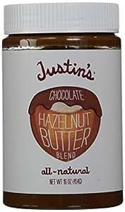 Justin's Nut Butter Natural Chocolate Hazelnut Butter - 16 oz