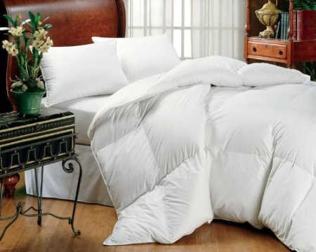 sheetsnthings Royal Hotel Collection 500TC 60oz White Goose Down Comforter 750 fill power, King/Cal king at Sears.com