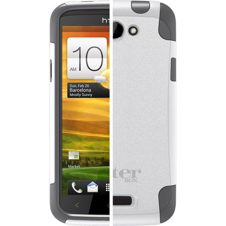 Otterbox Commuter Series Case HTC One X - Retail Packaging - Glacier (Htc One X Phone Accessories compare prices)