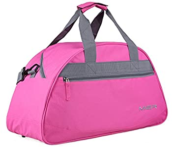 MIER 19inch Half Dome Travel Duffel Bag Women Sports Gym Bag with Shoe Compartment