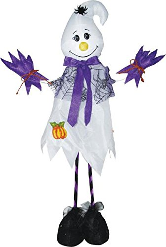 Morris Costumes SS83639 Standing Scarecrow Ghost 28 In