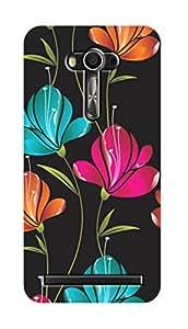 SWAG my CASE PRINTED BACK COVER FOR ASUS ZENFONE 2 LASER ZE 550KL Multicolor