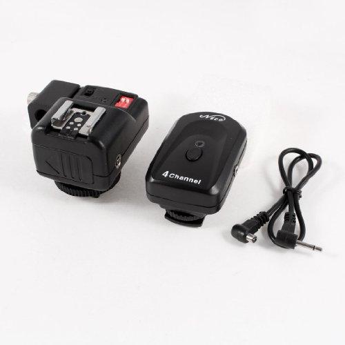 4 Channels Wireless Fm Radio Hot Shoe Flash Trigger For Canon Nikon