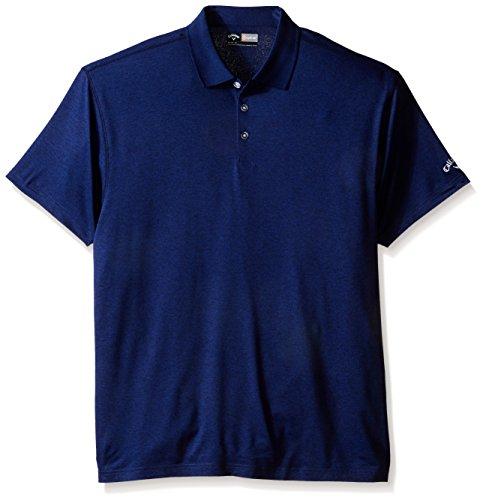 Callaway men 39 s big tall golf performance heathered short for Mens 5x polo shirts