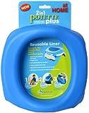Kalencom Potette Plus At Home Reusable Liners, Blue