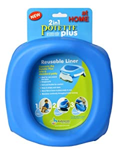 Kalencom Potette Plus At Home Reusable Liners, Blue
