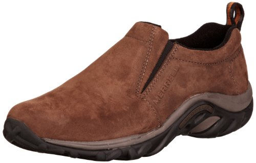 Merrell Men's Jungle Moc Nubuck Slip-On Shoe,Brown Nubuck,7 M US