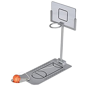 Kapoo Mini Foldable Tabletop Spring Loaded Basketball Game Desktop Toy- Indoor Outdoor Fun Sports Novelty Toy or Gag Gift Idea from Kapoo