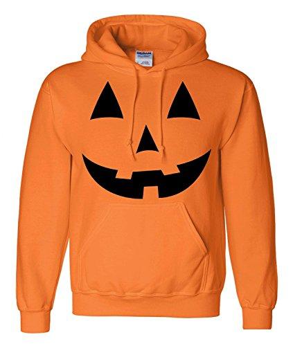Jack O' Lantern Pumpkin Hoodie By Dsc-Lrg front-606097