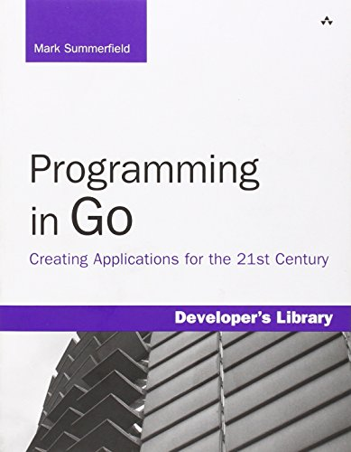 Programming in Go: Creating Applications for the 21st Century (Developer's Library) (Programming In Go compare prices)