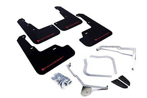 Rally Armor 15+ Subaru WRX & STi Sedan Only UR Black Mud Flap w/ Red Logo (Subaru Wrx Mud Flaps compare prices)