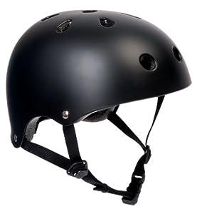 SFR Skate/Scooter/BMX Helmet - Matt Black XXS-XS (49cm-52cm) by SFR