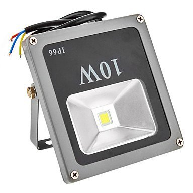 10W 500-600Lm 6000K Cool White Light Rechargeable Portable Led Flood Light (110-240V)