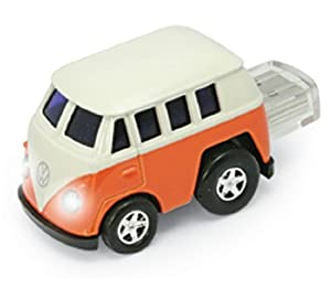 4GB VW Camper ORANGE USB Flash Memory Drive