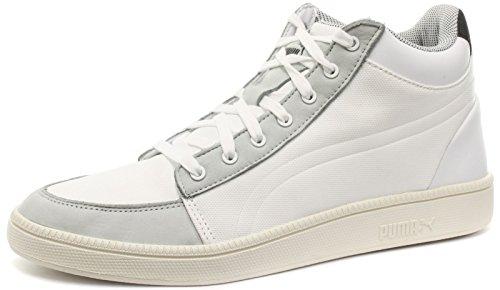 Puma Alexander McQueen MCQ Serve Mid Uomo Sneaker, Bianco, 39