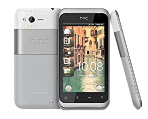 HTC 99HNW065-00 Rhyme Smart Mobile Phone (Clear Water)