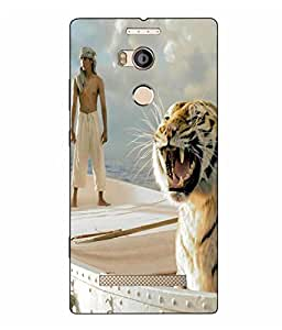 Case Cover Love Printed Logo Cut White Hard Back Cover For Gionee ELife E8
